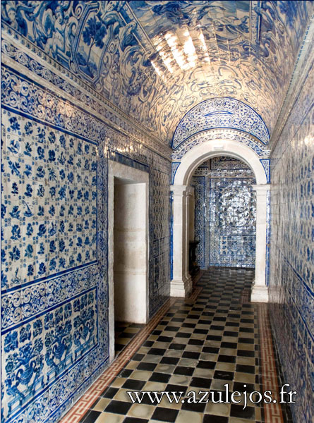 azulejos gallery and history of handmade portuguese and. Black Bedroom Furniture Sets. Home Design Ideas