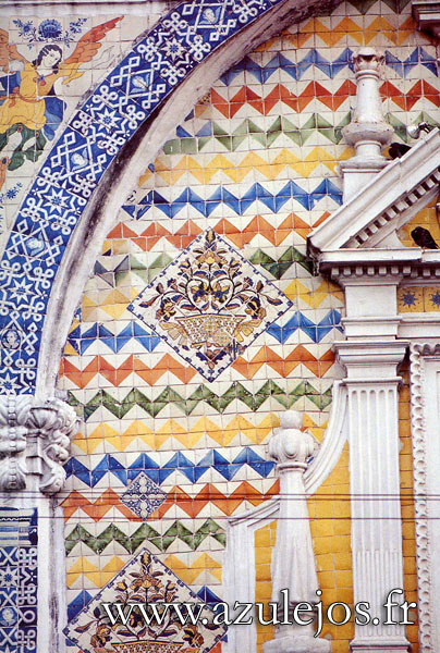 Azulejos gallery and history of handmade portuguese and for Azulejos conde